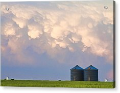 Mammatus Country Landscape Acrylic Print by James BO  Insogna