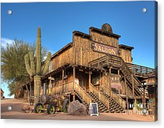 Mammoth Saloon Acrylic Print by Eddie Yerkish