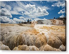 Mammouth Terraces Acrylic Print