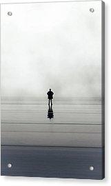 Man Alone Acrylic Print