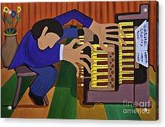 The Organist Acrylic Print