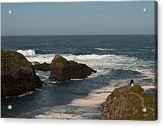 Acrylic Print featuring the photograph Man Fishing by Brian Williamson