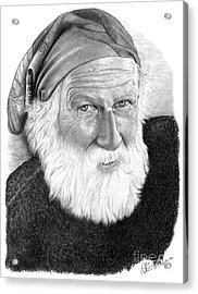 Man In Head Scarf Acrylic Print