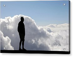 Man In The Clouds Acrylic Print