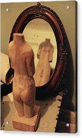 Man In The Mirror Acrylic Print