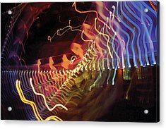 Acrylic Print featuring the photograph Man Move 0050 by David Davies