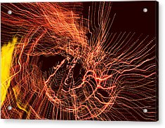 Man Move 0052 Acrylic Print by David Davies