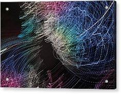 Acrylic Print featuring the digital art Man Move 0062 by David Davies