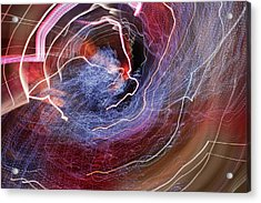 Acrylic Print featuring the photograph Man Move 0068 by David Davies
