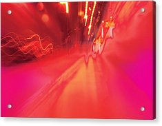 Acrylic Print featuring the digital art Man Move 0131 by David Davies