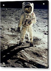 Man On The Moon Acrylic Print