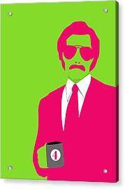 Man Poster Acrylic Print
