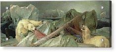 Man Proposes, God Disposes, 1864 Acrylic Print
