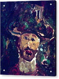 Man With A Hat Acrylic Print