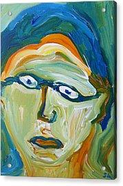 Man With Glasses Acrylic Print