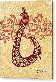 Manaiakani Hawaiian Hook Acrylic Print
