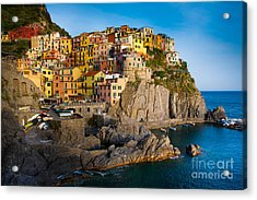 Manarola Acrylic Print by Inge Johnsson