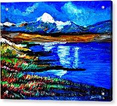 Manas Sarovr Lake-18 Acrylic Print