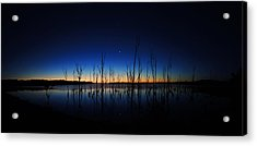 Manasquan Reservoir At Dawn Acrylic Print