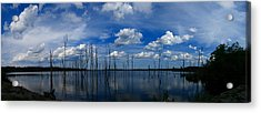 Acrylic Print featuring the photograph Manasquan Reservoir Panorama by Raymond Salani III