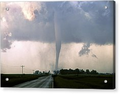 Acrylic Print featuring the photograph Manchester Tornado 3 Of 6 by Jason Politte