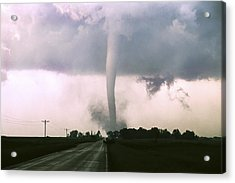 Acrylic Print featuring the photograph Manchester Tornado 4 Of 6 by Jason Politte
