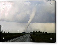 Acrylic Print featuring the photograph Manchester Tornado 6 Of 6 by Jason Politte