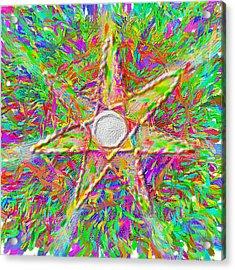 Mandala 1 22 2015 Acrylic Print