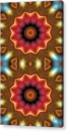 Mandala 103 For Iphone Double Acrylic Print