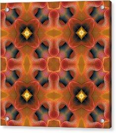 Mandala 124 Acrylic Print