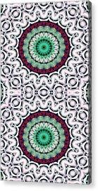 Mandala 9 For Iphone Double Acrylic Print