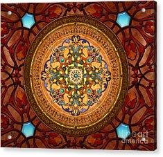 Mandala Arabia Sp Acrylic Print