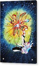 Mandala Observer Acrylic Print