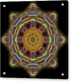 Mandala Of Light 1 Acrylic Print