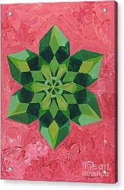 Mandala Of The Heart Acrylic Print