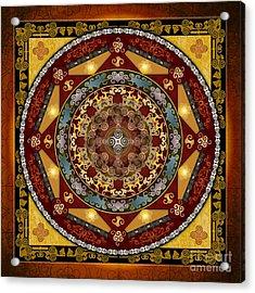 Mandala Oriental Bliss Acrylic Print