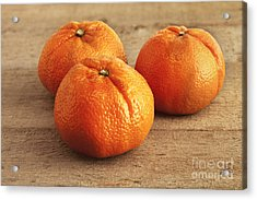 Mandarin Oranges Acrylic Print by Colin and Linda McKie