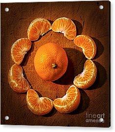 Mandarin - Vignette Acrylic Print