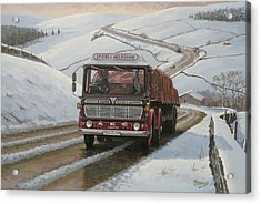 Mandator On Shap. Acrylic Print by Mike  Jeffries
