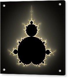 Mandelbrot Set Square Format Art Acrylic Print