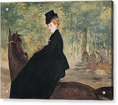Manet, �douard 1832-1883. Portrait Acrylic Print
