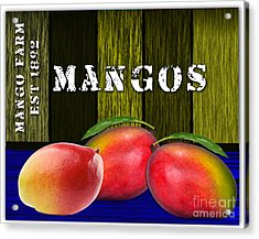 Mango Farm Acrylic Print