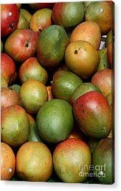 Mangoes Acrylic Print by Carol Groenen