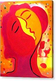 Mangos Acrylic Print by Jose jackson Guadamuz guadamuz