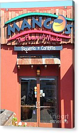 Mangos Restaurant At San Francisco California 5d26092 Acrylic Print by Wingsdomain Art and Photography