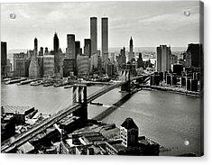 Manhattan 1978 Acrylic Print by Benjamin Yeager