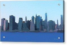 Manhattan 2014 Acrylic Print