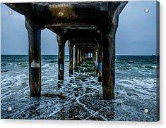 Manhattan Beach Peir Acrylic Print