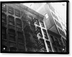 Manhattan Fire Escape Acrylic Print