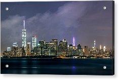 Manhattan Island  Acrylic Print